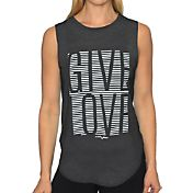 Betsey Johnson Performance Women's Give Love Muscle Tank Top