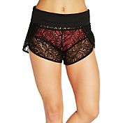 CALIA by Carrie Underwood Women's Lace Cover Up Shorts