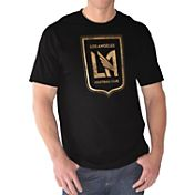 G-III Men's Los Angeles FC Logo Black T-Shirt