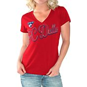 G-III For Her Women's FC Dallas Homefield Red Slub T-Shirt
