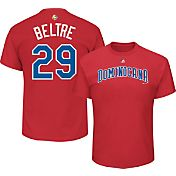 Majestic Men's 2017 WBC Dominican Republic Adrian Beltre #29 Red T-Shirt