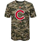 Majestic Youth Chicago Cubs Cool Base Digi Camo Performance T-Shirt