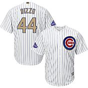 Majestic Youth Chicago Cubs World Series Champs Anthony Rizzo #44 Cool Base Home White Jersey
