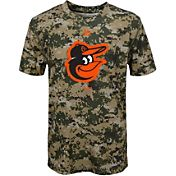 Majestic Youth Baltimore Orioles Cool Base Digi Camo Performance T-Shirt