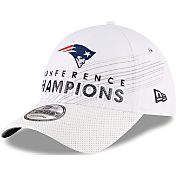 New Era Men's AFC Champions New England Patriots Locker Room 9Forty Adjustable Hat