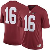 Nike Men's Alabama Crimson Tide #16 Media Day Game Football Jersey