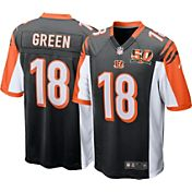 Nike Men's 50th Anniversary Home Game Jersey Cincinnati Bengals A.J. Green #18