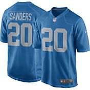 Nike Men's Alternate Throwback Game Jersey Detroit Lions Barry Sanders #20