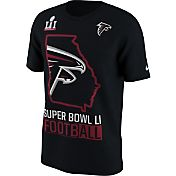 Nike Men's Super Bowl LI Bound Atlanta Falcons State Black T-Shirt