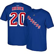 Reebok Men's New York Rangers Chris Kreider #20 Player Royal T-Shirt