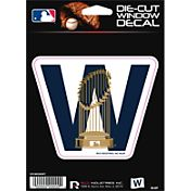 Rico Chicago Cubs W Trophy Die-Cut Window Decal