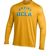 Under Armour Men's UCLA Bruins Gold UA Tech Long Sleeve Shirt